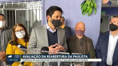 Prefeitura estuda reabrir Avenida Paulista para pedestres em mais domingos - Avaliação da abertura no último domingo (18) foi positiva, segundo prefeito Ricardo Nunes.