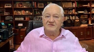 Boris Casoy relembra pergunta que pode ter feito FHC perder a prefeitura de São Paulo - Jornalista explica suas imitações de políticos famosos para conseguir informações importantes à época e fala sobre seu programa na internet