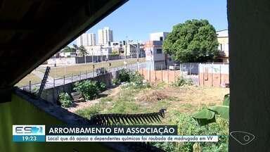 Associação de apoia a dependentes químicos é arrombada em Vila Velha, ES - Assista.