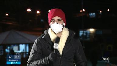 Pelo menos 61 municípios registram temperaturas negativas nesta quinta (29) - Pelo menos 61 municípios registram temperaturas negativas nesta quinta (29)