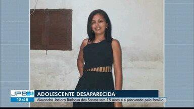 Adolescente de 15 anos está desaparecida - Família procura a menina.