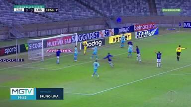 Cruzeiro empata com o Londrina no Mineirão - Após a partida, o diretor de futebol anunciou a saída do técnico Mozart.