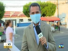 Acompanhe os números da Covid em Santa Inês - Repórter Erisvaldo Santos diz na manhã desta quarta-feira (4) que o número de casos ativos diminui no município.