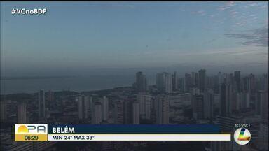 Confira a previsão do tempo em Belém e no interior do Pará nesta segunda-feira, 9 - Previsão do tempo.