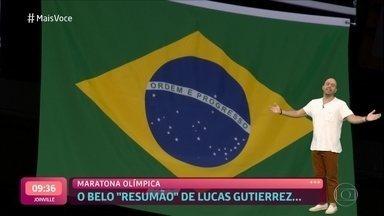 Confira um resumo dos Jogos Olímmpicos de Tóquio - O repórter Lucas Gutierrez contou as emoções e as incríveis noites sem dormir para acompanhar as provas