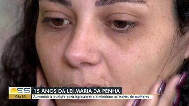 Lei Maria da Penha completa 15 anos com aumento da punição para agressores - Veja a seguir.