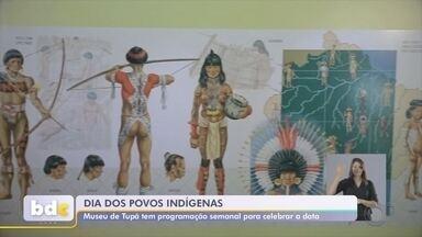 Museu Índia Vanuíre promove atividades online em comemoração ao dia dos povos indígenas - Museu Índia Vanuíre de Tupã promove diversas atividades online em comemoração ao dia dos povos indígenas.
