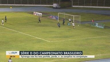 Série D: Ypiranga perde do Castanhal, que se garante no mata-mata da competição - Japiim aproveitou superioridade em campo, fez 2 gols com Samuel e Leandro Cearense, manteve a ponta do Grupo 1 e se garantiu na próxima fase do nacional.