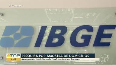 Coleta de informações do PNAD é realizada em Santarém - A pesquisa por amostra de domicílios tem sido realizada no município.