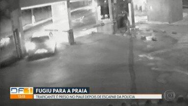 Traficante é preso no Piauí depois de escapar da polícia em perseguição dentro de condomínio - Homem traficava skunk, um tipo de maconha mais forte.