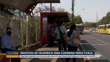 Proposta de teleférico em Londrina perde força - Prioridade agora será a criação de um Terminal de Ônibus Metropolitanos.