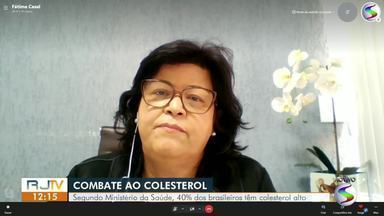 Cardiologista fala sobre o controle do colesterol - Segundo o Ministério da Saúde, 40% dos brasileiros têm colesterol alto.