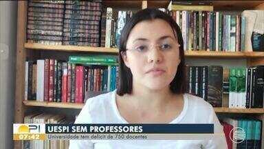 Uespi tem déficit de 750 professores - Uespi tem déficit de 750 professores