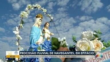 Procissão Fluvial de Nossa Senhora dos Navegantes será neste domingo - Evento vai ter restrição de público.