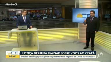 Justiça derruba liminar sobre voos ao Ceará - Saiba mais em: g1.com.br/ce