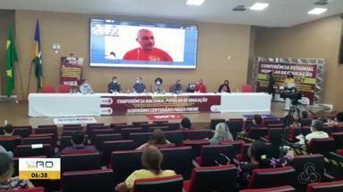 Conferência Estadual Popular da Educação acontece em Porto Velho - Evento contou com participação re vários representantes do Estado.