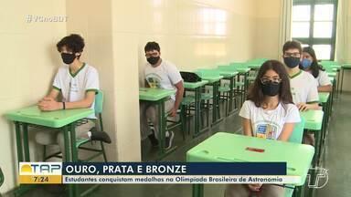 Estudantes de Santarém conquistam medalhas na Olimpíada Brasileira de Astronomia - Alunos receberam medalhas de ouro, prata e bronze.