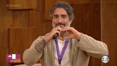 Programa de 13/08/2021 - Fátima Bernardes recebe o novo apresentador da Globo Marcos Mion, que comandará as tardes de sábado. Preta Gil também participa do programa