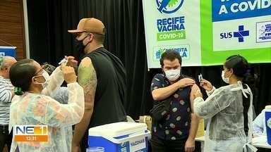 Geração Z é o grupo da vez na campanha de vacinação contra a covid - No Recife, jovens entre 18 e 24 anos já podem se vacinar