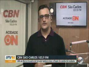 UBS do bairro Cruzeiro do Sul, em São Carlos, fica fechada após furto de fiação - O repórter Michael Haterman da CBN São Carlos tem mais informações.