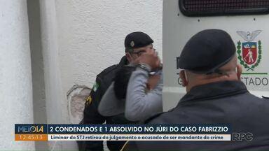 Justiça condena duas pessoas por assassinato de empresário em Curitiba - Fabrizzio Machado foi morto em 2017. Acusado de ser mandante do crime foi retirado do julgamento.