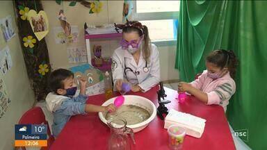 Professora de SC vira a 'Doutora Pandemira'; entenda - Professora de SC vira a 'Doutora Pandemira'; entenda