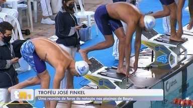 Confira as disputa do Trofeú José Finkel em Bauru - Confira como foi o dia de disputa nas piscinas do Troféu José Finkel em Bauru.