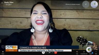 GR1 apresenta a artista conhecida como a Marília Mendonça do nordeste - A alagoana Marcelle Reis é um talento na música sertaneja e tem conquistado o público por onde passa.