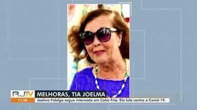 Joelma Fidalgo luta contra a Covid-19 em hospital de Cabo Frio, RJ - Tia Joelma é conhecida na região por fazer ações sociais. Notícias falsas divulgadas na internet diziam que Tia Joelma tinha morrido, mas ela segue internada.
