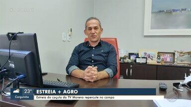 Vice-presidente Assoc. Comercial fala sobre estréia do + Agro - MS1