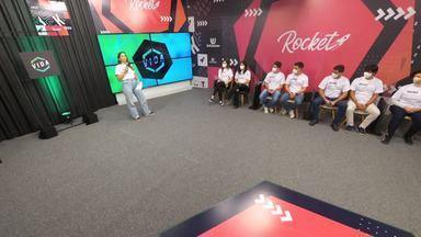 Rocket Vida Episódio #01: conheça quais são as startups que estão na disputa - Startups Ybyram, Voit, Ploy, Spacy, Noharm.ai, Harpia, Pineal e Dxtiny chegam ao Rocket Vida e conferem como foi a avaliação dos jurados
