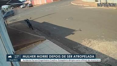 Mulher morre após ser atropelada por carro oficial da Prefeitura de Engenheiro Coelho - Estagiário dirigia veículo no momento do acidente.