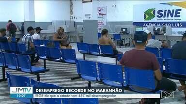 Maranhão chega a 457 mil pessoas desempregadas, aponta IBGE - Em meio a essa situação, há poucos setores que conseguiram remar contra a onda.