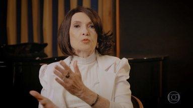 Doris Monteiro fala da sua primeira apresentação na televisão - Confira