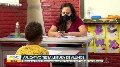 Educação avalia leitura de estudantes por meio de aplicativo em Goiás - Fluência de 70 mil alunos será avaliada.