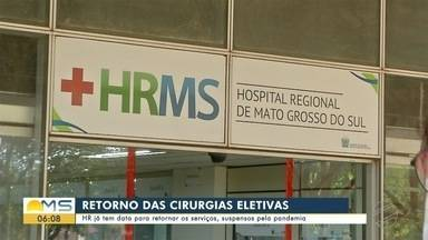 HR já tem data para retornar os serviços suspensos pela pandemia - Bom Dia MS
