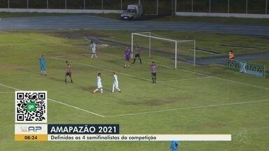 Amapazão: Santos-AP goleia o São Paulo-AP e fecha 1ª fase na liderança - Em noite inspirada de Aldair (3 gols), Peixe da Amazônia foi melhor na maior parte do jogo.