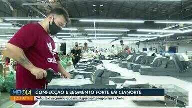 Confecção é seguimento forte em Cianorte - Setor é o segundo que mais gera empregos na cidade.
