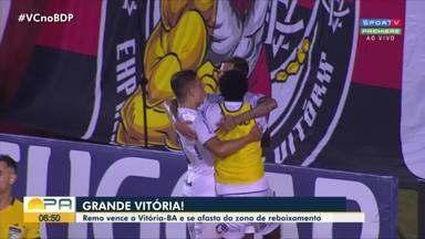 Gustavo Pêna analisa a vitória do Clube do Remo em Salvador, pela Série B - Gustavo Pêna analisa a vitória do Clube do Remo em Salvador, pela Série B