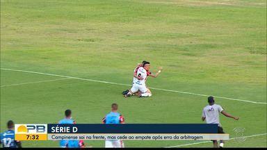 Sergipe 2 x 2 Campinense, pela Série D - Sergipanos e paraibanos empatam no jogo de ida