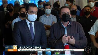 Prefeitura do Rio apresenta plano de utilização dos recursos da concessão da Cedae - Paes promete investimento de R$ 1,1 bi para zerar a fila do Sisreg e pretende gerar quase 35 mil empregos com verba