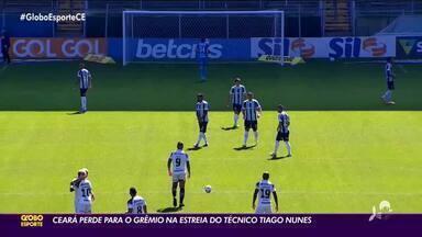 Ceará é derrotado para Grêmio - Saiba mais em ge.globo/ce