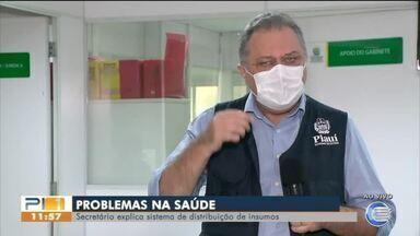 Secretário fala sobre falta de medicamentos e insumos no HTN em Floriano - Secretário fala sobre falta de medicamentos e insumos no HTN em Floriano