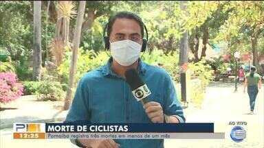 Parnaíba registra 3 mortes de ciclistas em menos de um mês - Parnaíba registra 3 mortes de ciclistas em menos de um mês