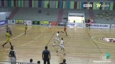 AABB sofre goleada de 7x1 na Taça Brasil de Futsal - AABB sofre goleada de 7x1 na Taça Brasil de Futsal