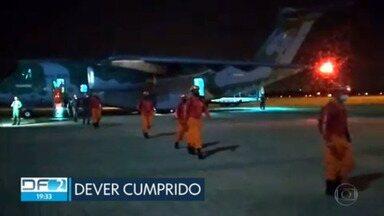 Bombeiros do DF que participaram de missão no Haiti voltam pra casa - Veja esta e outras notícias desta segunda-feira (13).