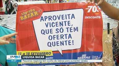 Lojistas realizam 'Liquida Bazar' em Imperatriz - São promoções para alavancar as vendas no mês de setembro.