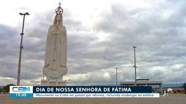 Monumento de Nossa Senhora de Fátima, no Crato, vai passar por reforma - Confira mais notícias em g1.globo.com/ce