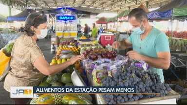 Veja quais frutas e verduras estão com preços altos em feiras de Goiânia - Pepino tem sido vilão com aumento de quase 80%.