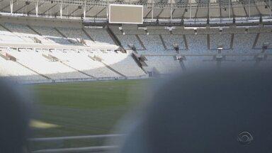 Grêmio enfrenta o Flamengo nesta quarta (15) - Partida terá público presencial no Maracanã.